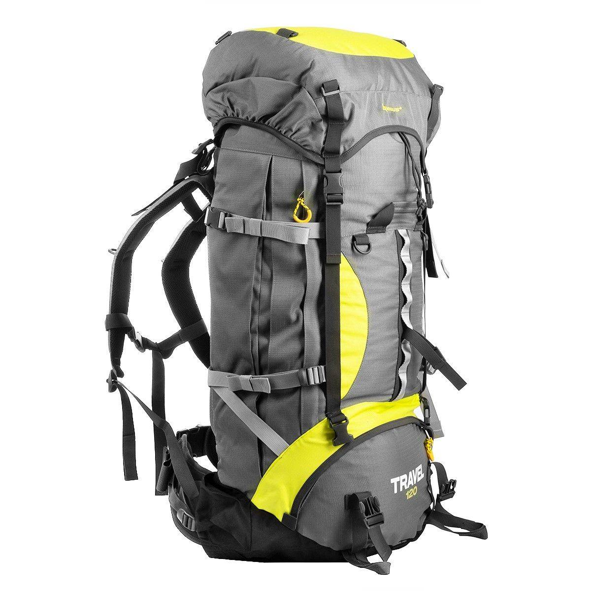 Рюкзак Nisus N-TB084-120L-G Travel 120 Grey