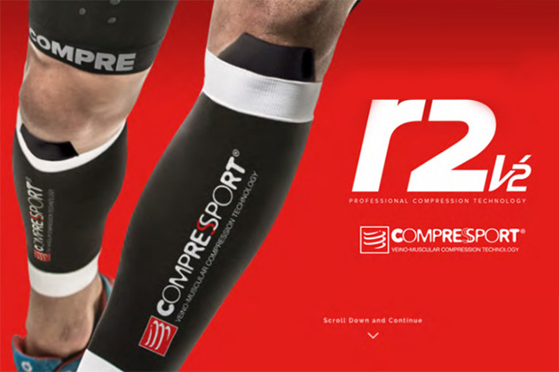 Компрессионные гетры Compressport - R2