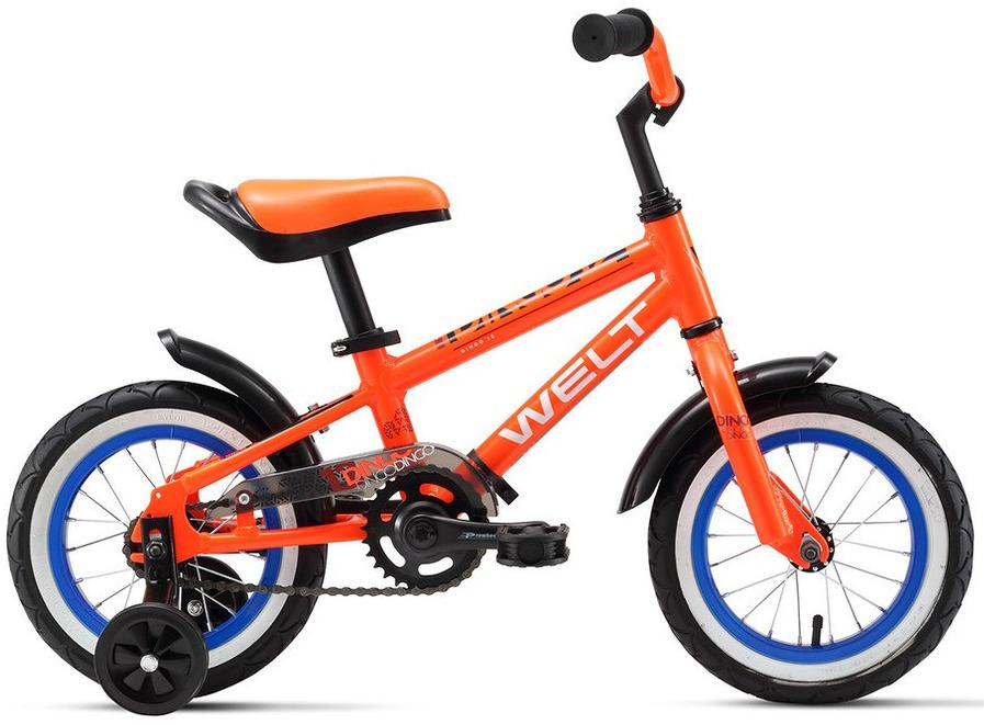 Велосипед Welt Dingo 12 2019 orange/black/blue